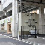 長居駅高架下店舗新築工事完成