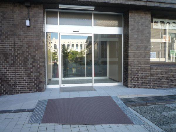 大阪商業大学校舎入口新設工事