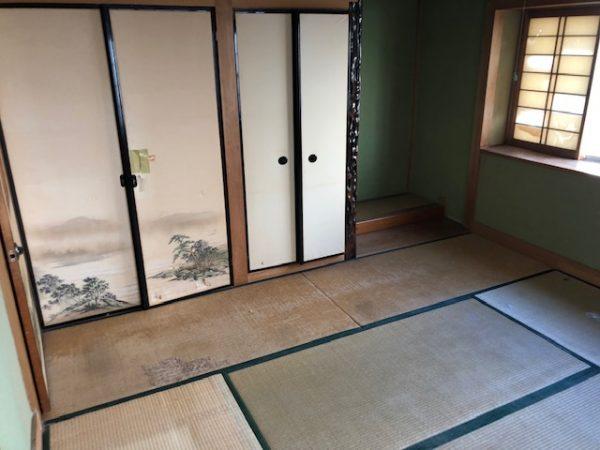 2階和室施工前